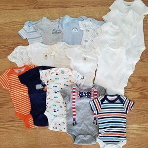 Newborn Onesies - 18 of them